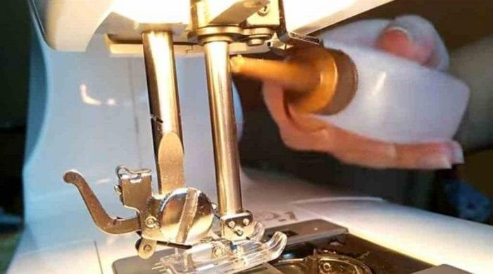 aceite maquina coser