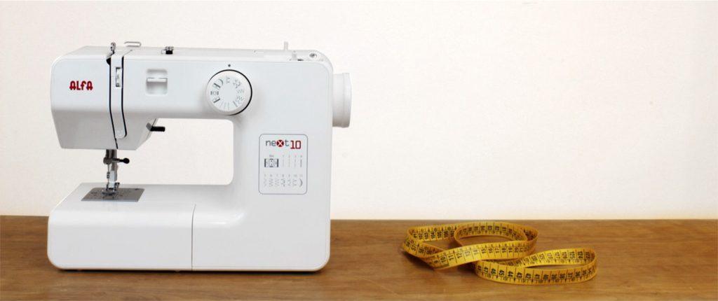 maquina coser alfa next 10