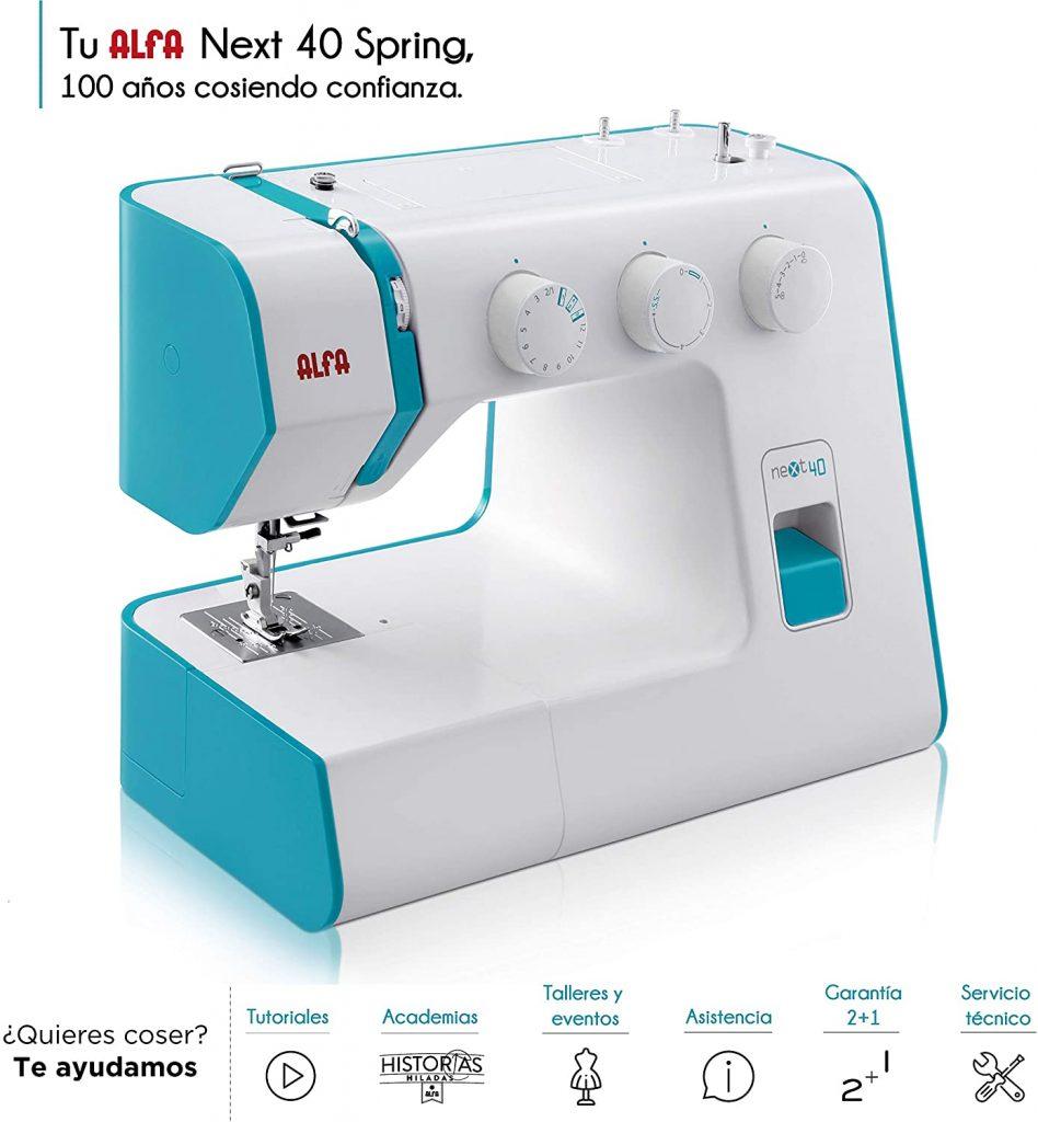 maquina de coser alfa next 40