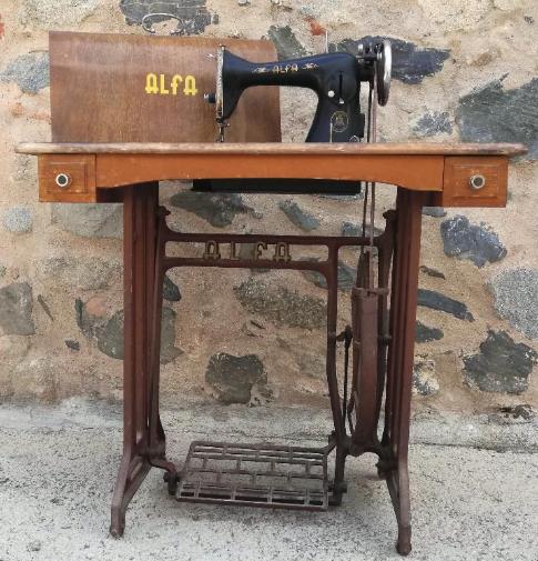 maquina alfa antigua