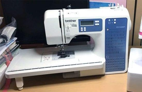 maquina de coser brother fs100wt