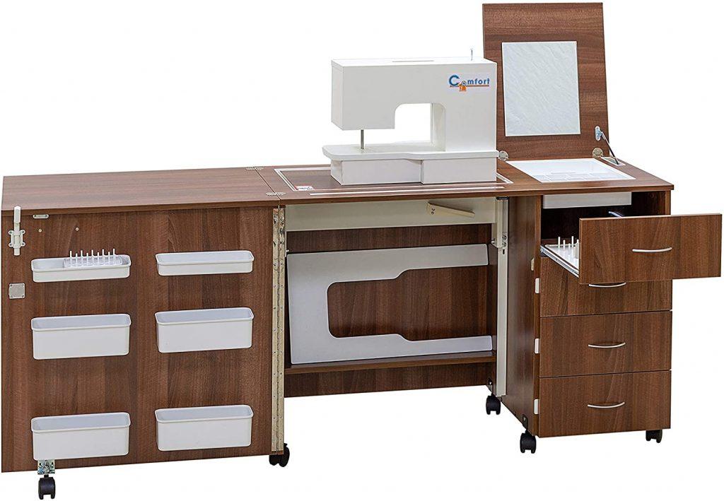 mueble 2 para maquina de coser comfort