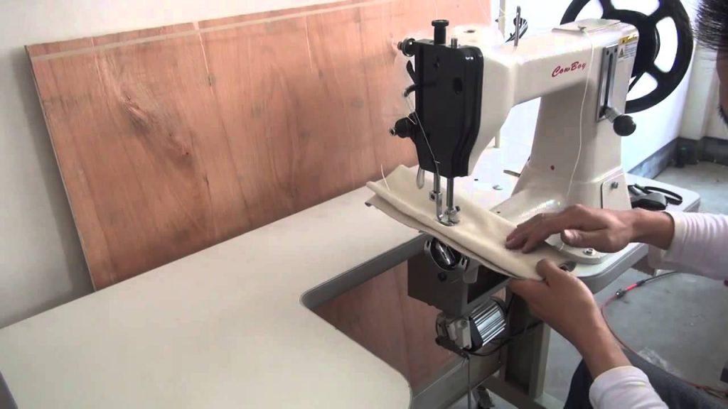maquina coser cuero