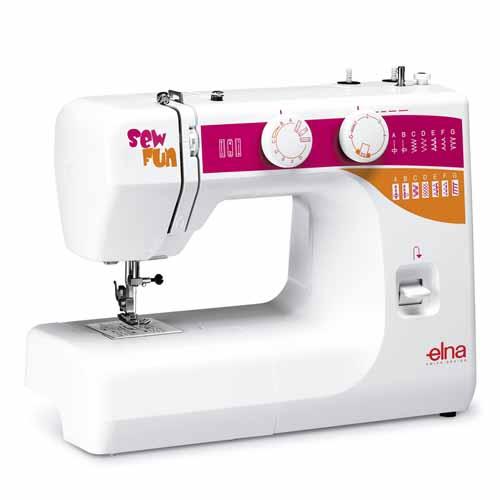 maquina coser elna