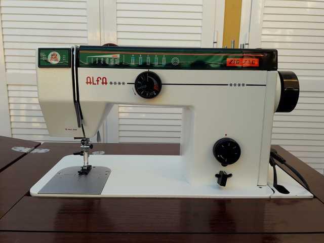 maquina alfa de coser segunda mano