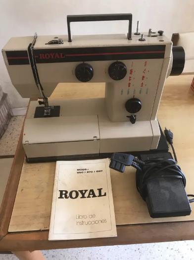 maquina de coser royal