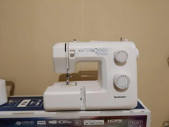 caracteristicas de la maquina de coser silvercrest