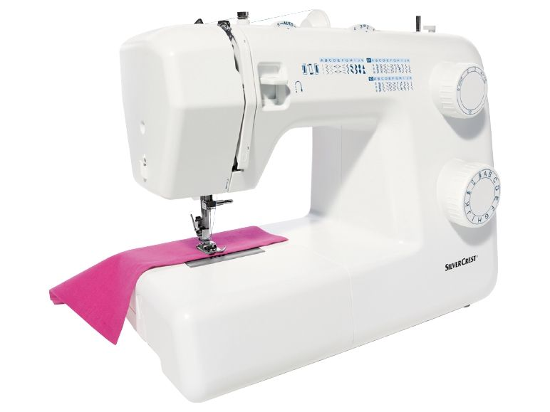 maquina de coser manual silvercrest