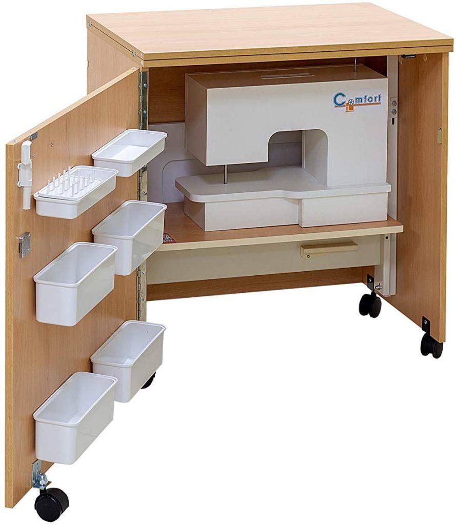 mesa basica para maquina de coser comfort