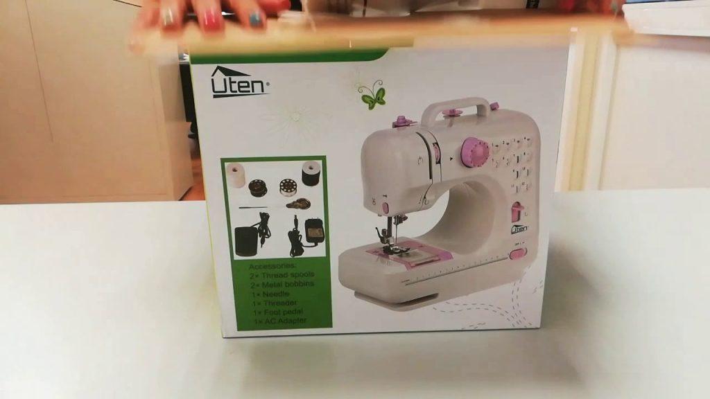 maquina pequeña de coser uten
