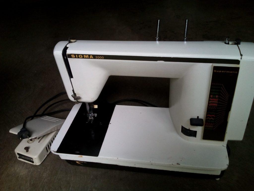 maquina sigma antigua 2000