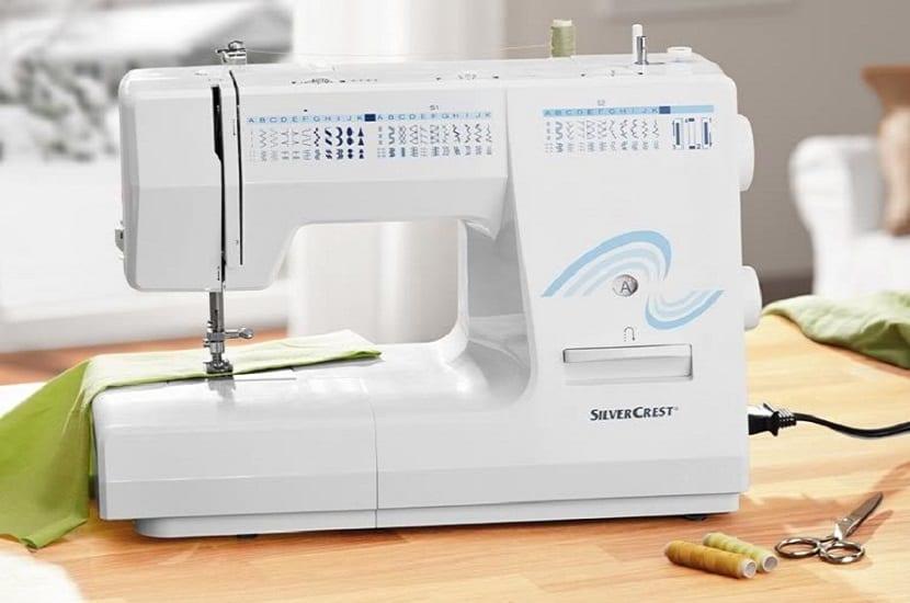 caracteristicas de la máquina de coser silvercrest