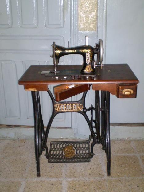 maquina coser wertheim